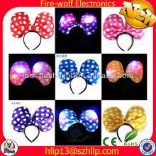Wholesale PARTY LED Plastic Headbands Fashion Glow Party Headbands