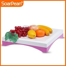 Latest Design Colorful Fiberglass Fruit Tray