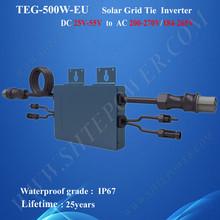 Beautiful design Solar grid tie dc 24v micro invertor 500w for 110v country