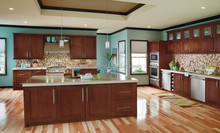 wooden kitchen cabinet door/modern design PR-K4001 from PRIMA