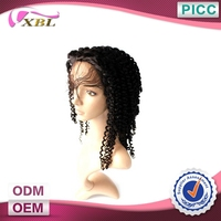 Factory Price Best Quality Hot Selling Afro Kinky Curly Lace Wigs For Small Heads