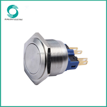 22mm ip65 illuminated lachting 6v high quality waterproof doorbell switch push button