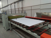 pvc ceilings tile machine and gypsum board with reasonable price