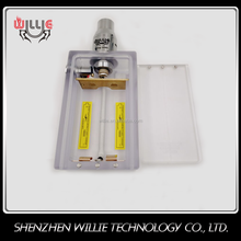 Factory price ABS plastic 18650 Battery Case ecig