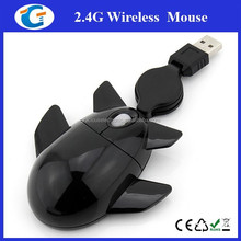 Airplane model hot selling cheap wired mouse for corporate gift