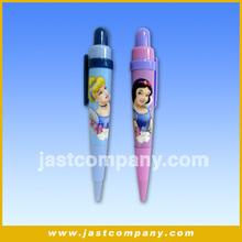 Customized Sound Plastic Ballpoint Pen, Kids Talking Pen, Snow White Talking Pen, Promotional Ball Pen, Plastic Ballpoint Pen