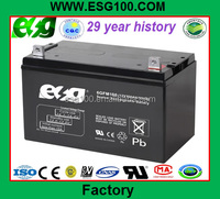 China supplier lead acid battery 12V100AH solar battery AGM battery