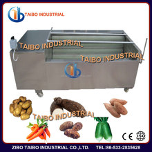 High performance cassava peeler machine also for other root vegetables