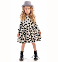 Cotton Comfortable Black Cats Printed Latest Dress Patterns For Girls
