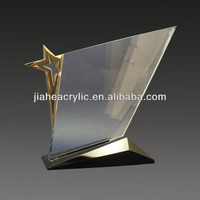 2014 new products wholesale acrylic trophy memento