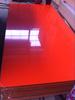 1220*2440MM High gloss UV/PVC MDF board for kitchen cabinet(ORANGE)