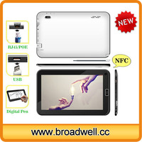 Capacitive Screen Allwinner A31S Quad Core Industrial 10 tablet pc With HDMI RJ45 POE Port 2 Standard Big USB