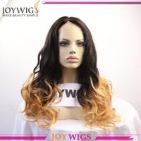 Brazilian Virgin Hair Ombre Wigs 1b/27# Human Hair Front Lace Wigs