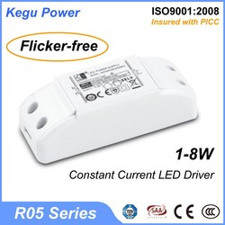 92 KEGU R05 1-8W Constant Current LED Driver 12v led drive(Flicker-free) with TUV CE SAA