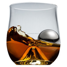 The Rock Glass with Stainless Steal Ice Ball + Ice Tongs
