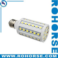 E27 9-10W 60x5050 SMD 1100LM 4000-4500K Natural White Light LED Corn Bulb (220-240V)