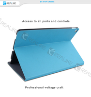 Premium pu leather tablet case for apple ipad pro with stand function