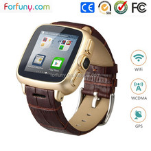 2015 Hot Selling High Grade 3G WiFi Smart Watch Cell Phone With GPS