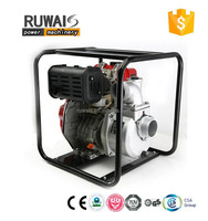 China Zongshen air-cooled small electric water pump diesel pump gasoline pump in factory price