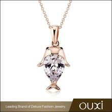 Wholesale Fashion Pendant Necklaces Natural Stone Wedding Jewelry