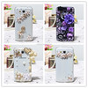 For samsung galaxy j5 phone case, metal bumper with diamond pc back cover case for galaxy j5