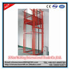 2tons vertical guide rail cargo elevator