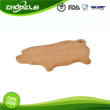 OEM BSCI Approved Factory Low Cost Animal Shaped Cutting Board