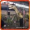 Outdoor playground animatronic emulation realistic robotic dinosaur costume for sale