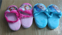 Hotsale walson instyles Frozen Pink Light Blue Girl Baby Kid Children Slippers Shoe