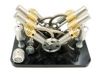 Hot Air Stirling engine model V4