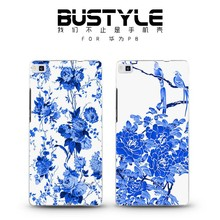 BUStyle blue and white porcelain phone case for Huawei P8 Chinese style