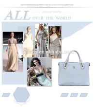agradable en busca de la moda de las señoras de cuero genuino hechos a mano bolsos hechos a mano bolsos de cuero
