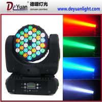 Professionals dj equipment 36*3w beam moving head light price