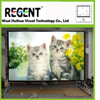 """150""""(4:3) PVC Material Fast Fold Front and Rear Projection Screen"""