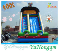 made in china best-selling kids lovely big inflatable slide for commercial party use