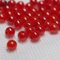 al por mayor sintéticas piedras preciosas coral rojo perlas