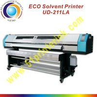permanent eco solvent ink jet printer 2.1m ud-211la for outdoor advertisement