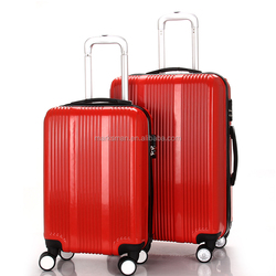 Hard Shell ABS 4 Wheels spinner suitcase expansdable Trolley Luggage