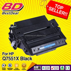 In Stock!!! Fast delivery guarantee compatible toner cartridge for hp 7551X