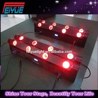 Double line 8*10w led moving head beam bar
