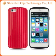 Fashion suitcase shape mobile phone cover for iphone 6s