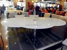 Modern China Round GLass Pub Table