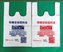 China clear cheap plastic transparent shopping bag