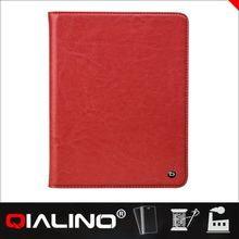2014 QIALINO new hot wholesale leather for ipad air case