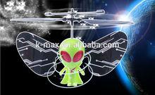 diseño único piloto 1ch de juguete del rc ovni volando