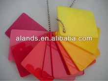 different colors acrylic/perspex/plexiglass sheet