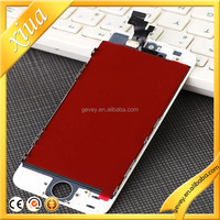 2015 popular LCD screen digitizer replacements for iphone 5S Black