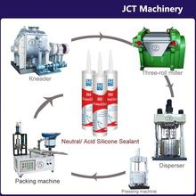 machine for making silicone latex caulk