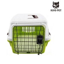 Hotsale easy-taking plastic pet cage for both cat and dog