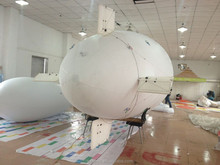 8.4M self-inflatable PVC inflatable remote control blimp airship military business